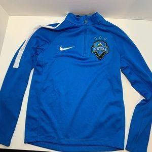 Nike dri-fit blue Medium Colorado Storm jacket